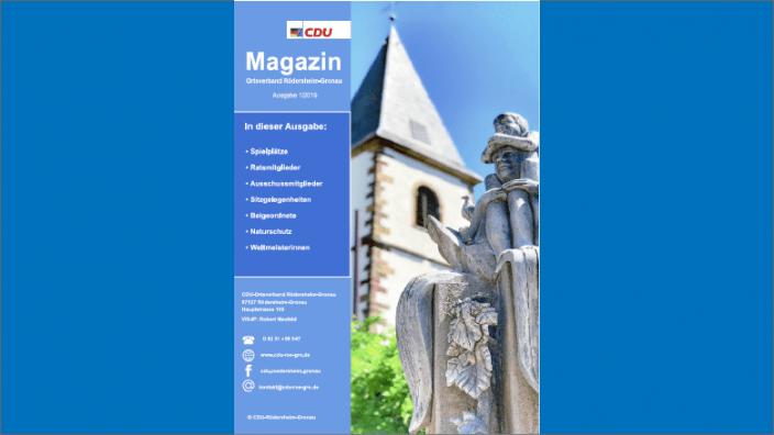 CDU Magazin 2019